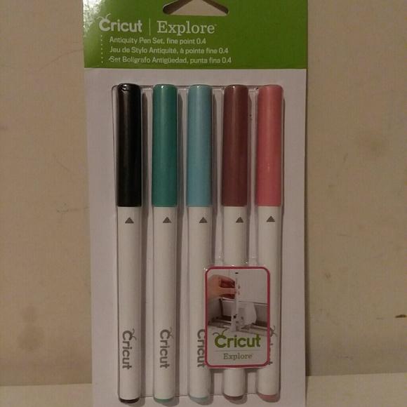 Cricut Antiquity Color Pen Set